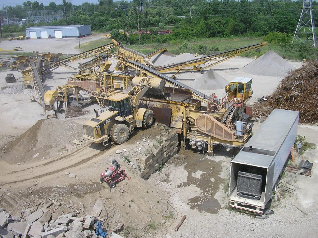 Recycling Services For Construction Sites